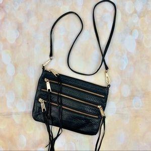 Rebecca Minkoff panama fringe tassel zip purse